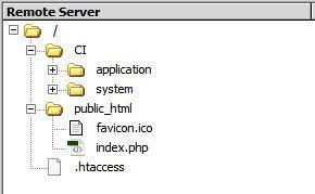 1 - remote server files