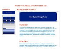 Prototype Newsletter Builder v0.1