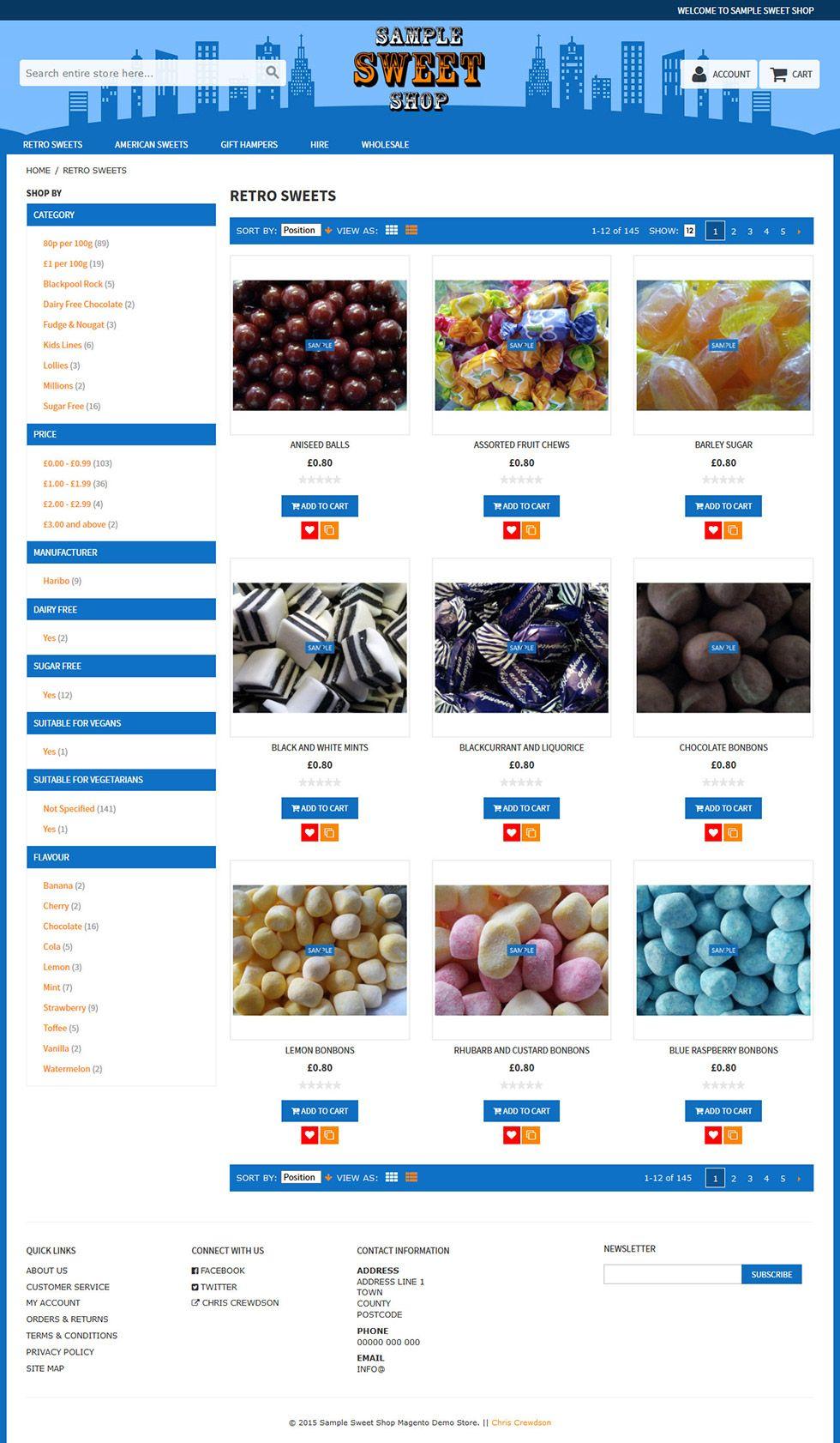 rwd custom catalog page