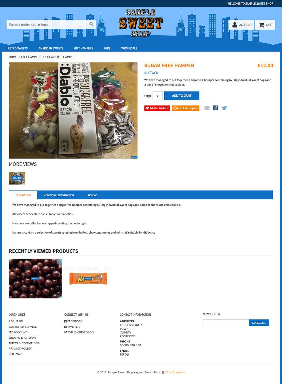 rwd custom product page
