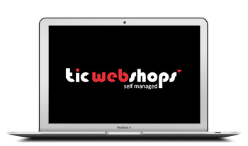 tic webshop self managed laptop